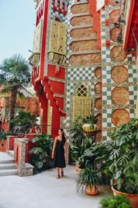 Casa Vicens is a must-see building in Barcelona, because it is one of the most picturesque Gaudi`s buildings in Barcelona.