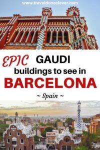 Discover epic Gaudi buildings in Barcelona: from La Sagrada Familia, to Casa Vicens, Barcelona is full of Gaudi`s beautiful works.