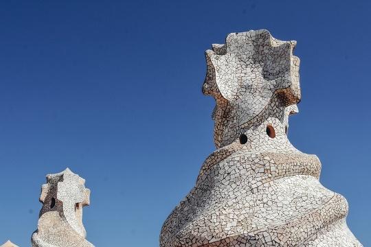more Gaudi design in Barcelona