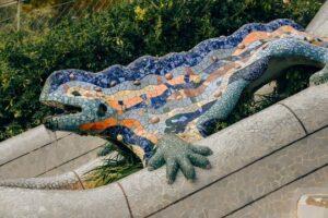 Gaudi dragon fountain