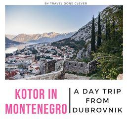 Kotor Montenegro cruise ship guide
