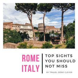 Rome travel guide to the best attractions