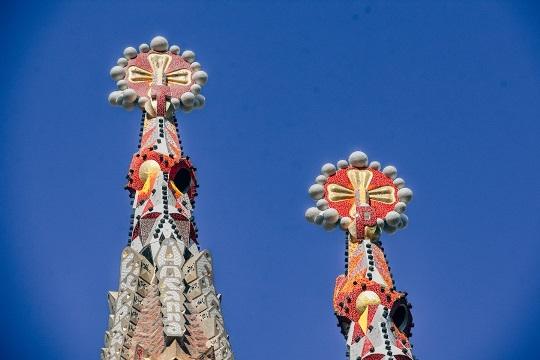La Sagrada Familia - Gaudi design in Barcelona