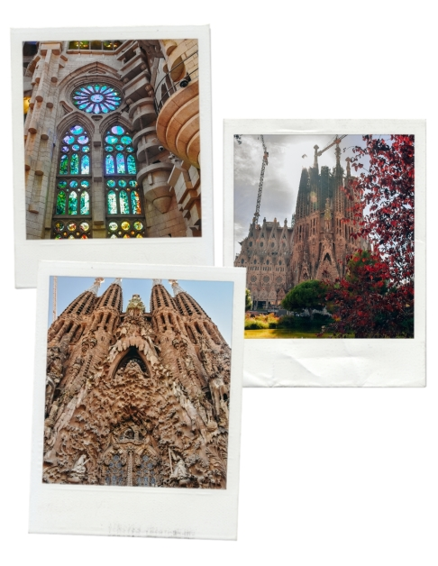 Sagrada Famila, one of Gaudi`s best builidngs in Barcelona is one of the most visited attractions in Barcelona.