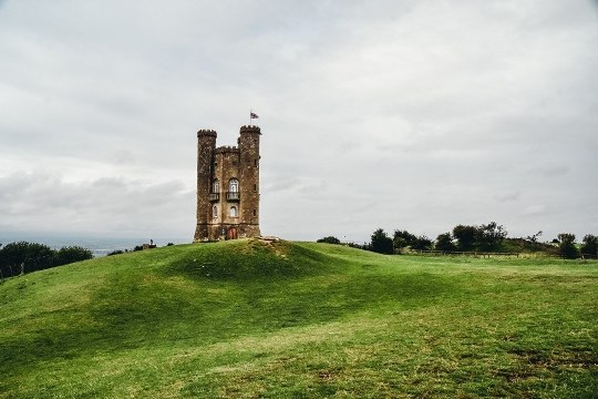 prettiest Cotswolds villages: A visit to Broadway Tower is one of the best things to do in the Cotswolds because this Saxon tower offers magnificent views of the rolling countryside.