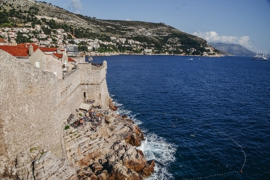 Buzza bar - a cliff bar in Dubrovnik is one of top attractions in the city becuse the bar is hidden along Dubrovnik`s city walls.