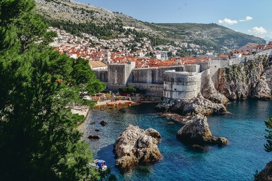 unique things to do in Dubrovnik, Croatia: kayaking is one of the best things to do in Dubrovnik because it allows you to experience the city from the sea. It is also an excellent way to rest and catch some rays while escaping the busy Old Town.