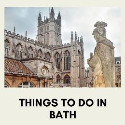 visiting historic town Bath in UK