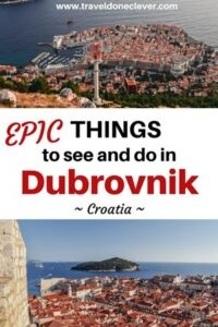 What are epic attractions in Dubrovnik in Croatia? Discover Dubrovnik`s must-see attractions and unique activities.