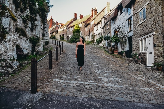 Gold Hill; Shafftesbury in Dorset is an excellent day out because this idylic town looks like something out of fairy-tale.