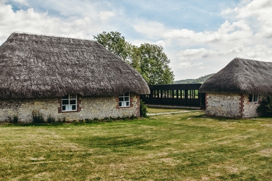 Amberley village: After exploring Amberley village, make sure you visit nearby Bognor Roman Villa and learn more about the villa`s history. Walk on the original mosaic floor dating back to 350 AD.
