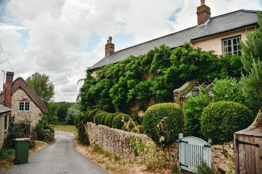 Explore the beautiful streets of Amberley village because of its slower pace and breath-taking scenery of the South Downs National park.