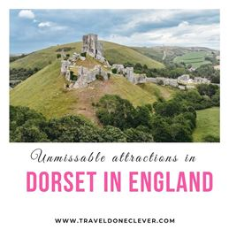 what you need to see in Dorset England from southwestern part of England