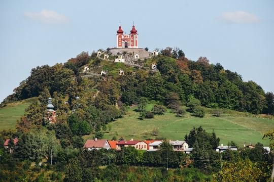 A visit to Calvary is a top thing to do in Banska Stiavnica because this Baroque styled Calvary with 17 stations and 3 churches is the most impressive Baroque Calvary in Europe. A must-see attraction in Banska Stiavnica towers over the town atop the Scharfenberg hill.