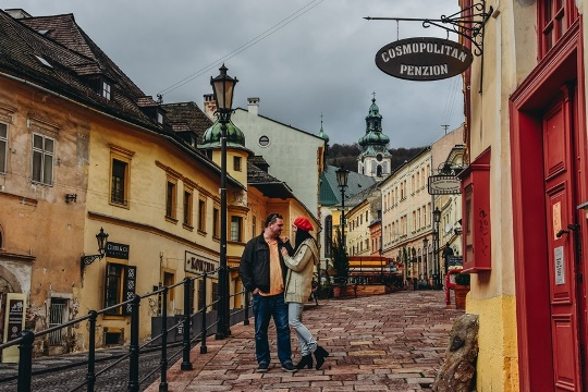 things to do in Banska Stiavnica: explore Banska Stiavnica`s town centre with colourful pastel houses, cute little shops, inter-linked romantic streets and magnificent monuments. What`s more, town centre of Banska Stiavnica is a UNESCO Heritage site and therefore, it should be on your itinerary.