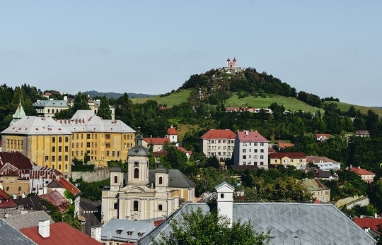 """Banska Stiavnica in Slovakia is a unique town because it sits in the middle of Caldera. A volcanic eruption in the past predetermined the destiny of the Stiavnica region. What`s more, this charming town was once """"Europe`s El Dorado""""."""
