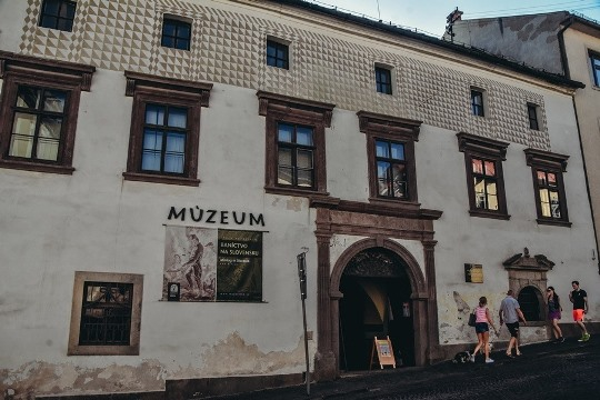 Kammerhof is an excellent place where youngsters can learn more about the history of mining in Slovakia.