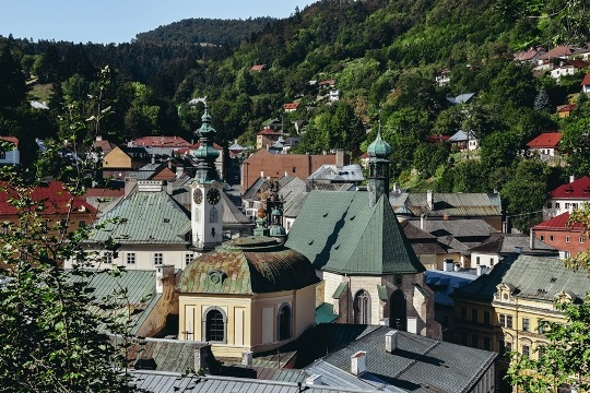 """Visiting Banska Stiavnica: The """"Silver Town"""" with a massive network of mining tunnels was one of the richest cities in medieval Europe. For this reason, the rich veins of treasures hidden beneath the Stiavnica`s surface paid for the opulent palaces built in Budapest and Vienna."""