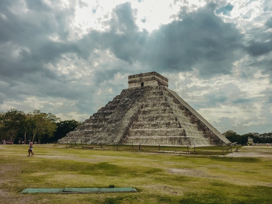 El Castillo (the Temple of Kukulkan) is the top sight in Chichen Itza because its marvellous design is impressive for the connection with astrology and also the Maya believe system. It is also one of the most recognisable landmarks in Mexico.