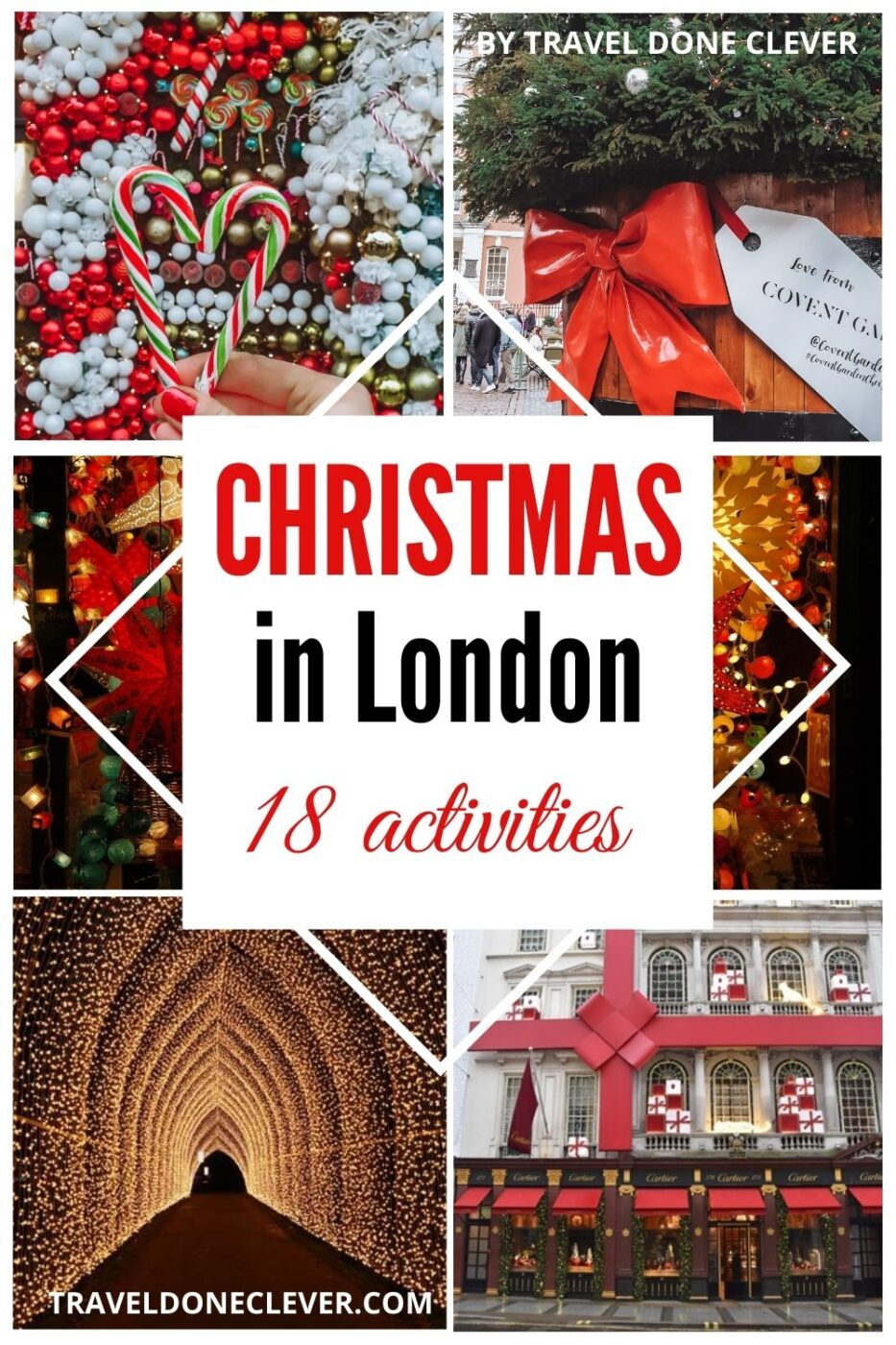 Make your Christmas in London as magical as possible. Visit the top 18 best festive attractions and Chrismassy spots in London to get into the festive spirit!