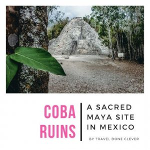 discover Coba ruins on a day trip from la Isla in Mexico