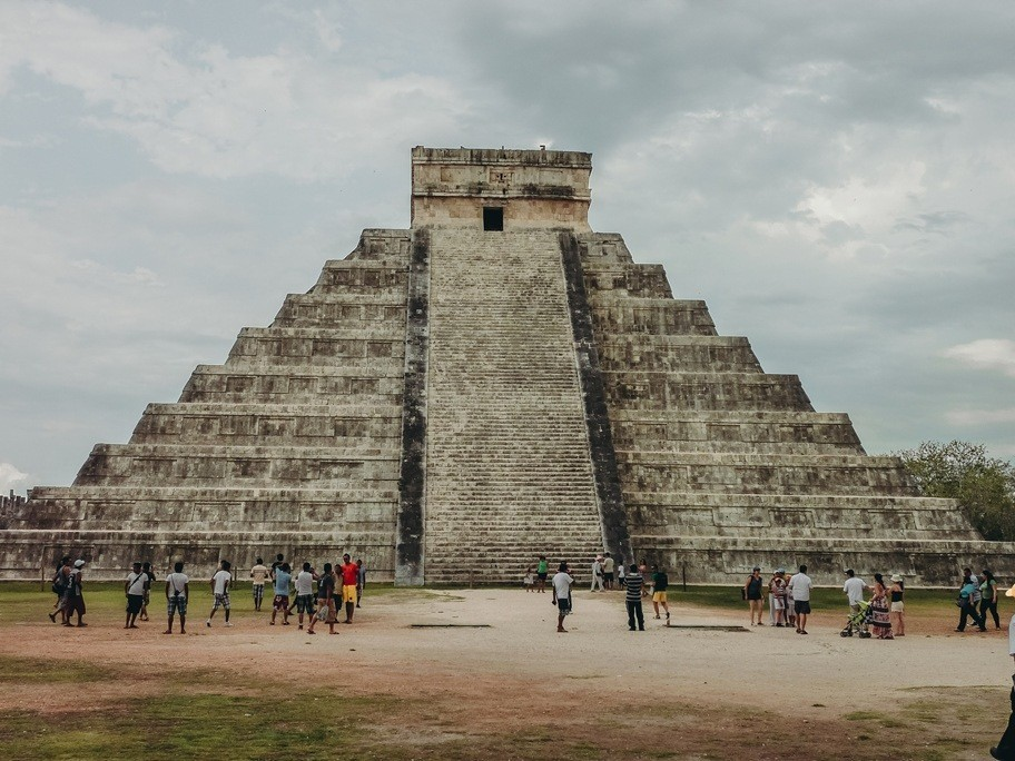 The Kukulkan pyramid is top attraction in Chichen Itza because it`s a true testament of astrological geniuses of the Maya people. What`s more, the pyramid recently discovered that there is a sacred sinkhole under this unique Maya temple.