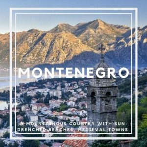 Montenegro country in Europe