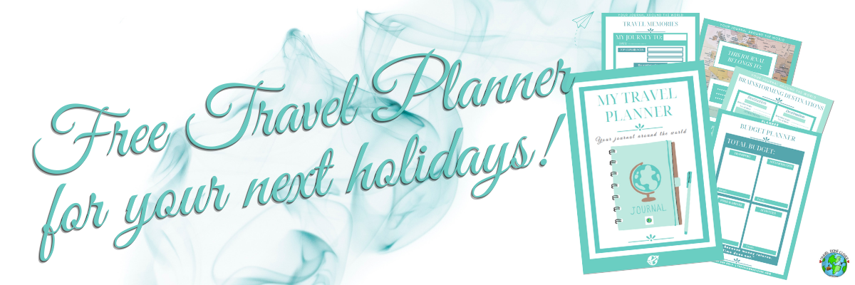 Free Printable Travel Planner for you
