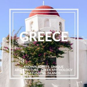 Why to visit Greece in Europe