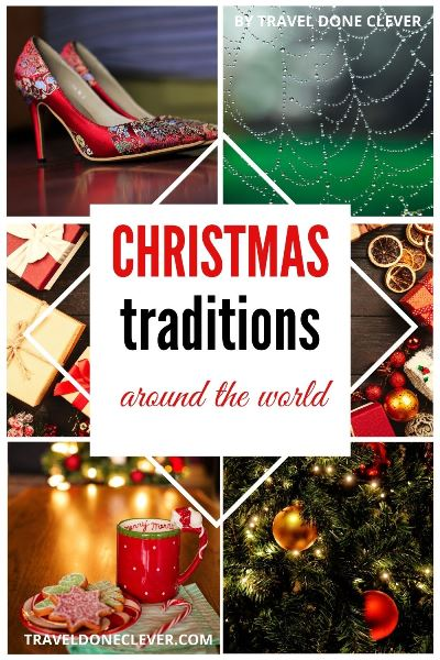 Unique Christmas traditions around the world to make your holiday memories mor fun. From the popular traditions to unique and unusual, why not to incorporate some of them into your holiday this year.