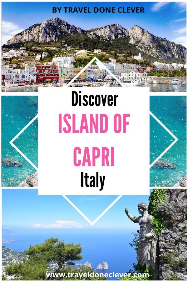 Island of Capri: a beautiful island in the Bay of Naples