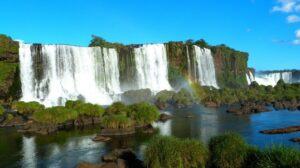 travel around the world quiz - Iguazu falls