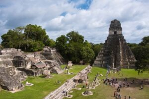 travel around the world quiz: Tikal in Guatemala