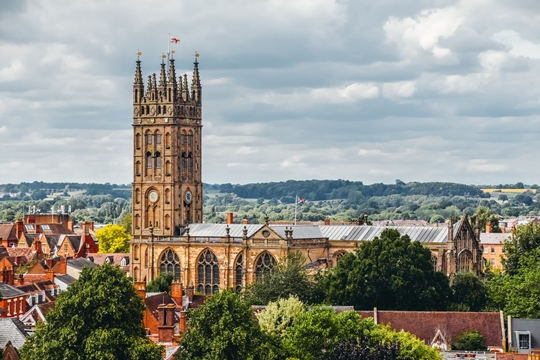 things to do in Warwick: Collegiate Church of St Mary is another famous landmark in the town. This dominant feature of Warwick's skyline is a masterwork of medieval art and, therefore, it is one of the best things to see in Warwick.