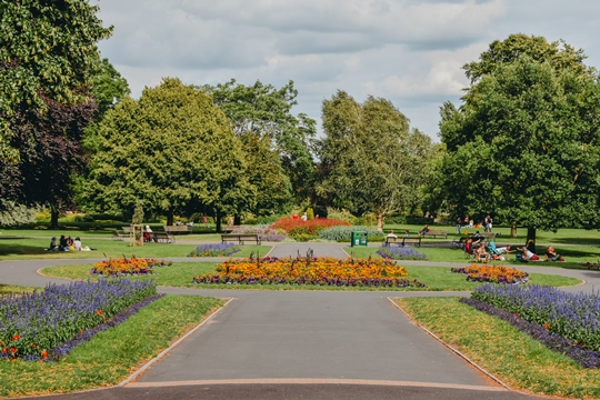 Another perfect place where you can clear your head is St Nicholas Park. A large park located on the eastern side of the town is the ideal setting for a picnic or a quiet stroll.