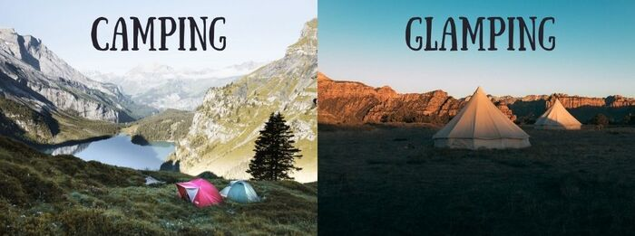 sustainable travel: Camping and glamping are sustainable way how to travel because they are both better for the environment. Plus, they are an excellent way of how to reconnect with nature. However, if you decide to choose one of these options, make sure you take all litter with you.
