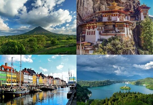 sustainable travel: Choose a travel destinations that values sustainable travel. When planning your holidays, try to choose a destination that values sustainability. You will be able to experience the best a country has to offer, and a local economy will benefit from your visit too.