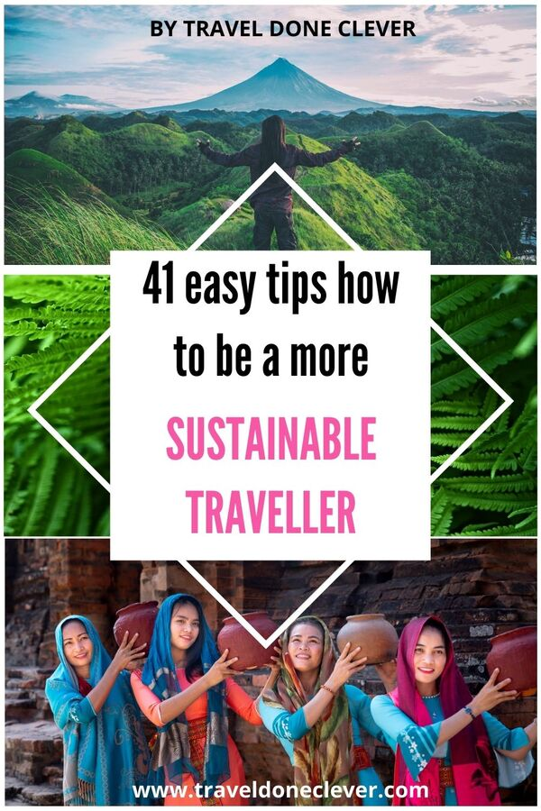 Easy Sustainable travel tips to help to save our planet