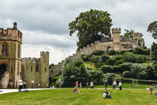 things to do in Warwick: Do not miss the nearby Conqueror's Fortress. This is the oldest part of the Warwick castle standing today. Walk all the way up for unforgettable views of the surrounding area and Warwick Castle. It is a top attraction in Warwick.