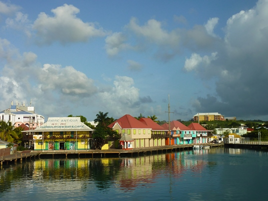 St. John's is a central hub of activity on the island has many colourful colonial buildings and market stalls.