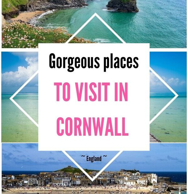 17 gorgeous places to visit in Cornwall you will love. Discover the best things to do in Cornwall in England. From famous spots to hidden gems, these are the prettiest places you must have on your Cornish bucket list.