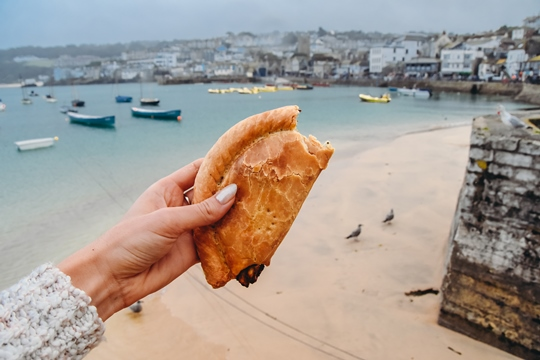 Cornish pastry is something of a speciality here - it is even protected legally. The authentic Cornish pastry comes in many varieties. Make sure you try some pastry when in this part of England.
