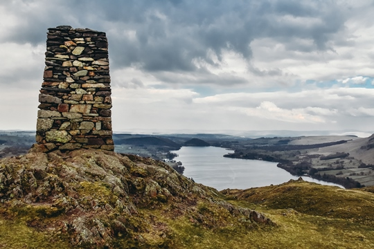 things to do in the Lake District: Hiking Hallin Fell is one of the best things to do in the Lake District because it is an excellent place if you are a hiking beginner. It is a lesser-visited fell with dramatic views of Ullswater lake. And, if you're lucky, you will spot some wildlife too.