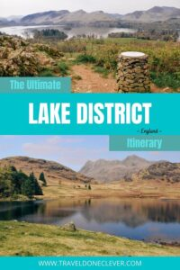 Uncover the best Lake District attractions in England. Explore beautiful tarns and lakes in the Lake District, see impressive waterfalls and forts, easy-to-climb fells and scenic roads. #lakedistrict #englandlakedistrict