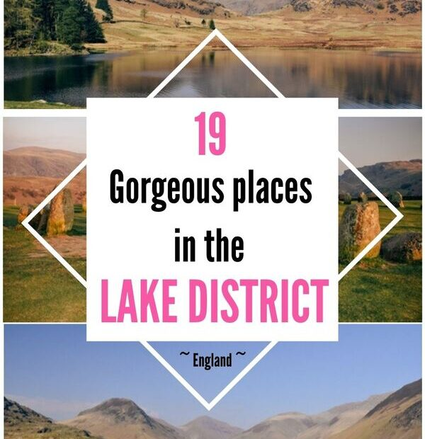 Make your trip to the Lakes memorable and discover the top best things to do in the Lake District in England. Explore famous and less-visited lakes, tarns, rushing waterfalls, nearby fells. Experience the easy hikes, scenic roads and the best walks in the Lake District. #lakedistrict #lakedistrictengland