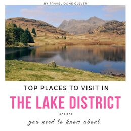 exploring the Lake District in England