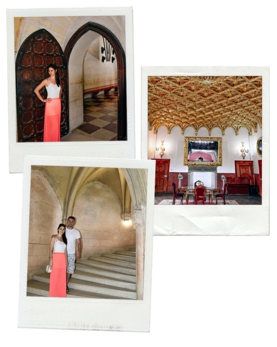 Bojnice: You`ll find many beautiful rooms in Bojnice Castle, and the Golden room is one of them.