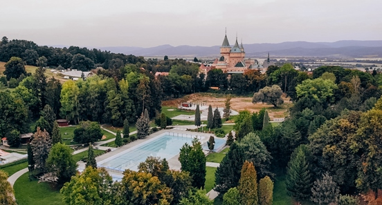 Bojnice things to do: Plan your trip to Bojnice during the summer months, and you`ll be able to swim in one of three thermal pools. Thermal pool Cajka is the perfect place to spend a relaxing day soaking up the sun and marvelling at Bojnice castle. It is one of the top attractions in Bojnice.