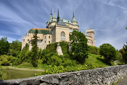 Bojnice Castle: Bojnice Castle is one of the most beautiful castles in Slovakia. This beautiful medieval castle is also a travel photographer's dream that will transport you back in time. Besides, it is one of the most visited castles in Slovakia.