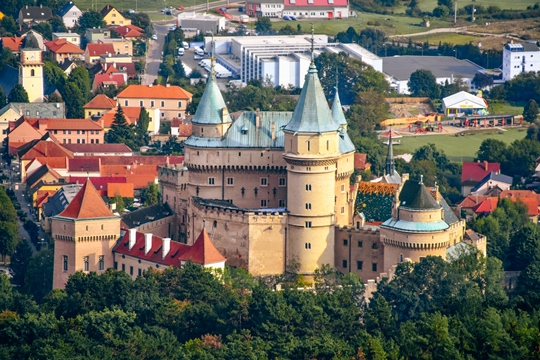 Bojnice Castle: Bojnice Castle with a bridge arching over glittering moat attracts hundreds of thousands of visitors every year. It`s undoubtedly one of the most popular sites in Slovakia, and for very good reasons.